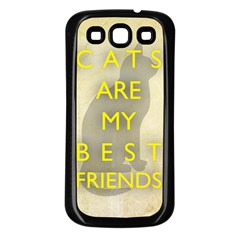 Best Friends Samsung Galaxy S3 Back Case (black) by Contest1775858