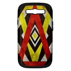 Sharp Edges Samsung Galaxy S Iii Hardshell Case (pc+silicone) by Contest1775858