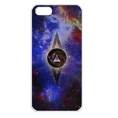 Infinite Space Apple Iphone 5 Seamless Case (white) by Contest1775858