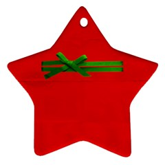 Ornament By Deca   Star Ornament (two Sides)   Znkymb06t01w   Www Artscow Com Front