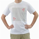 women t shirt - Men s T-Shirt (White) (Two Sided)