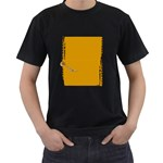 black shirt - Men s T-Shirt (Black) (Two Sided)