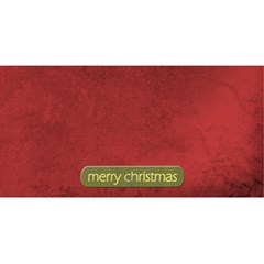 Merry Christmas Card 3d By Zornitza   Merry Xmas 3d Greeting Card (8x4)   A7heb8sr015e   Www Artscow Com Back