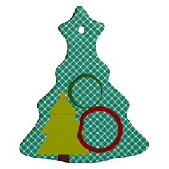 Christmas Tree 2 Side Ornaments By Zornitza   Christmas Tree Ornament (two Sides)   7g3afx7cad3u   Www Artscow Com Back