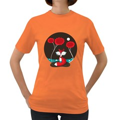 The Red Fox Womens' T Shirt (colored)