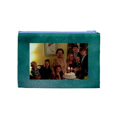 Mrs  Kirk By Carol & Dudley May   Cosmetic Bag (medium)   257ce2kyvg9b   Www Artscow Com Back
