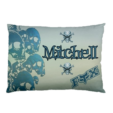 Mitch Pillow Case By Kdesigns   Pillow Case   Sw08ss7r08f5   Www Artscow Com 26.62 x18.9 Pillow Case