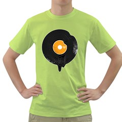 Melting Song Mens  T Shirt (green) by Contest1771529
