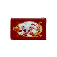 Merry Christmas By Xmas   Cosmetic Bag (small)   Janvx1c4lrcv   Www Artscow Com Back