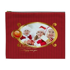 Merry Christmas By Xmas   Cosmetic Bag (xl)   1fh057xdb9ug   Www Artscow Com Front