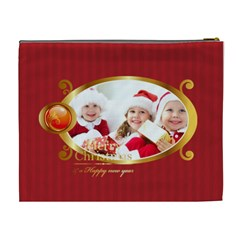 Merry Christmas By Xmas   Cosmetic Bag (xl)   1fh057xdb9ug   Www Artscow Com Back