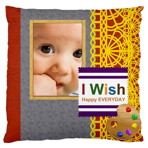 Baby By Joely   Large Cushion Case (one Side)   81drqvj8ixmb   Www Artscow Com Front