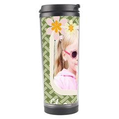 Flower Of Kids By Joely   Travel Tumbler   Yjxdlk2g4aoa   Www Artscow Com Left