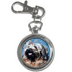 Briard Key Chain Watch