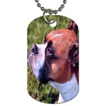 boxer Dog Tag (One Side)