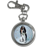 Basset hound puppy Key Chain Watch