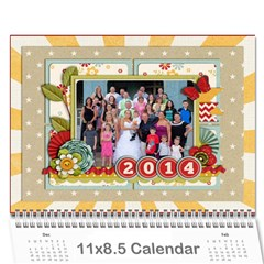 2014 Family Calendar By Sweetheaven   Wall Calendar 11  X 8 5  (12 Months)   Cc5f3v018zba   Www Artscow Com Cover