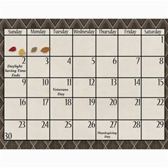 2014 Family Calendar By Sweetheaven   Wall Calendar 11  X 8 5  (12 Months)   Cc5f3v018zba   Www Artscow Com Nov 2014