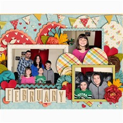2014 Family Calendar By Sweetheaven   Wall Calendar 11  X 8 5  (12 Months)   Cc5f3v018zba   Www Artscow Com Month
