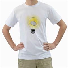 Good Idea! Mens  T Shirt (white)