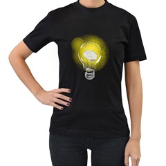 Good Idea! Womens' Two Sided T Shirt (black)