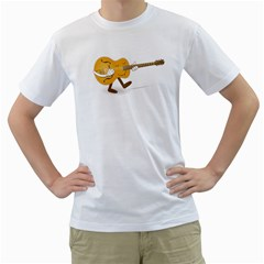 Solo Guitar Mens  T Shirt (white) by Contest1753604