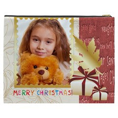 Merry Christmas By Joely   Cosmetic Bag (xxxl)   Eubadu200rfq   Www Artscow Com Back