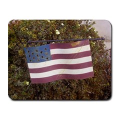 flag Small Mousepad by beachrubbish