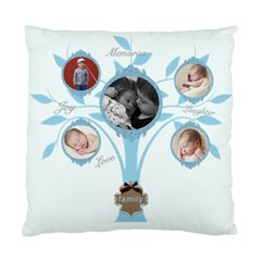Family Love Two Sided Cushion By Chatting   Standard Cushion Case (two Sides)   Gkn4pdqu7coj   Www Artscow Com Front
