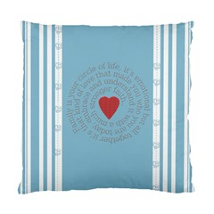 Family Love Two Sided Cushion By Chatting   Standard Cushion Case (two Sides)   Gkn4pdqu7coj   Www Artscow Com Back