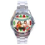 xmas - Stainless Steel Analogue Men's Watch