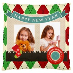 Xmas By Joely   Large Cushion Case (two Sides)   760o9o0qsgva   Www Artscow Com Back