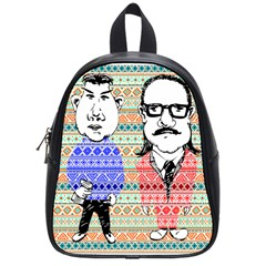 The Cheeky Buddies School Bag (small) by doodlelabel