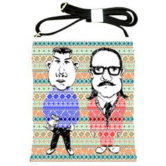 The Cheeky Buddies Shoulder Sling Bag by doodlelabel