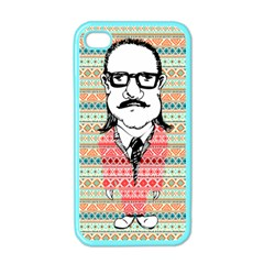 The Cheeky Buddies Apple Iphone 4 Case (color) by doodlelabel