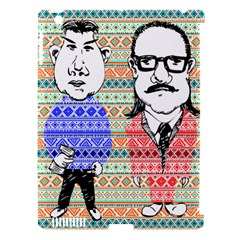 The Cheeky Buddies Apple Ipad 3/4 Hardshell Case (compatible With Smart Cover) by doodlelabel