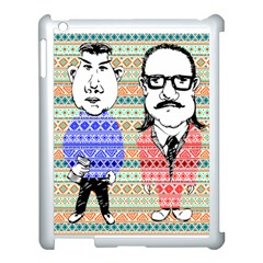 The Cheeky Buddies Apple Ipad 3/4 Case (white) by doodlelabel