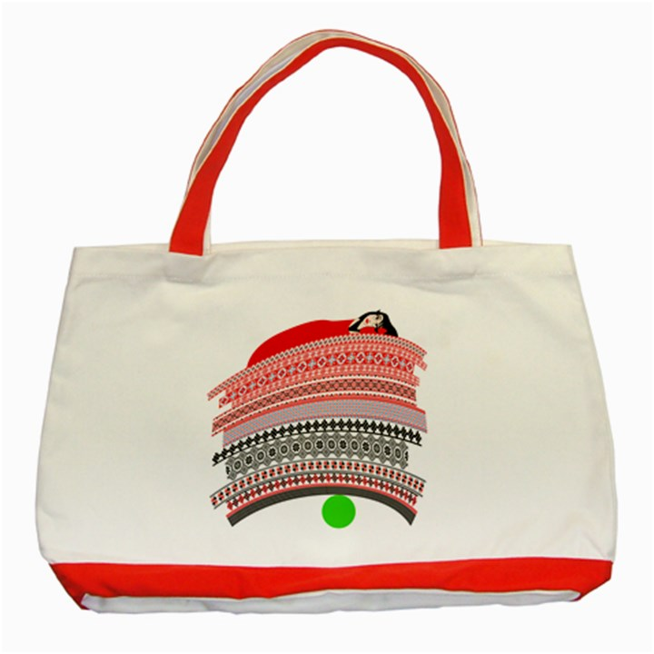 The Princess And The Pea Classic Tote Bag (Red)