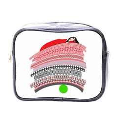 The Princess And The Pea Mini Travel Toiletry Bag (one Side) by doodlelabel