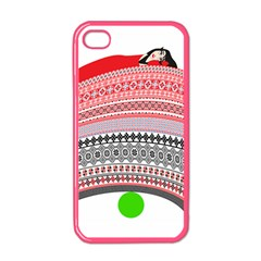 The Princess And The Pea Apple Iphone 4 Case (color) by doodlelabel