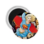 supergirl and the legend of super heroes 2.25  Magnet