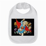 supergirl and the legend of super heroes Bib