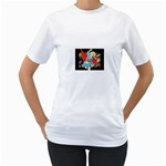 supergirl and the legend of super heroes Women s T-Shirt