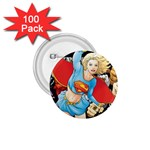 supergirl and the legend of super heroes 1.75  Button (100 pack)