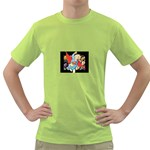 supergirl and the legend of super heroes Green T-Shirt