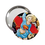 supergirl and the legend of super heroes 2.25  Handbag Mirror