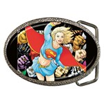 supergirl and the legend of super heroes Belt Buckle