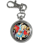 supergirl and the legend of super heroes Key Chain Watch