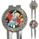supergirl and the legend of super heroes 3-in-1 Golf Divot