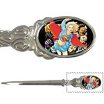 supergirl and the legend of super heroes Letter Opener